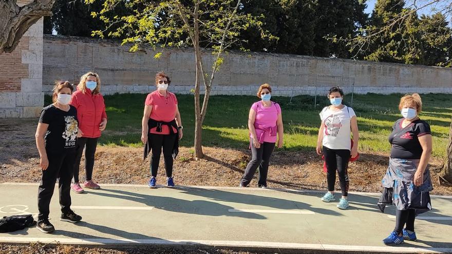 La AECC de Toro retoma las rutas saludables para fomentar el ejercicio físico