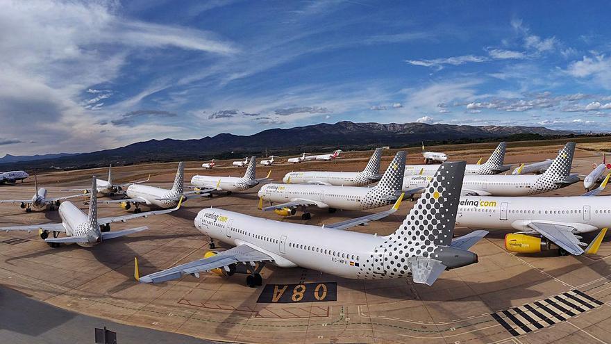 El aeropuerto de Castelló duplicará su espacio para acoger 80 aviones inactivos