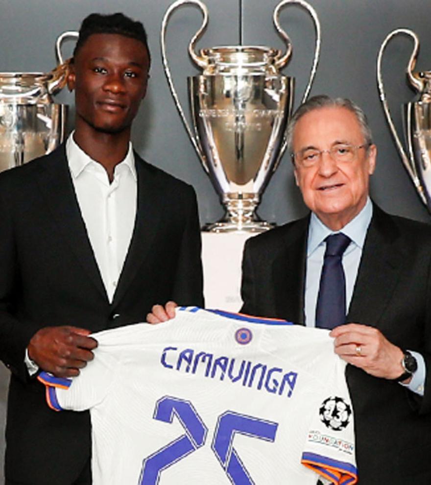 """Camavinga, presentado en el Real Madrid: """"Es un sueño que tenía desde pequeño"""""""