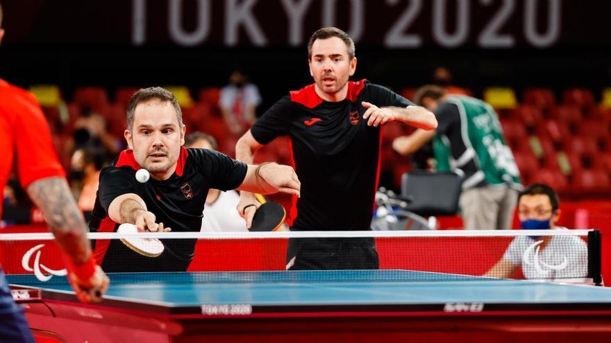 Álvaro Valera y Jordi Morales logran la medalla de bronce en tenis de mesa