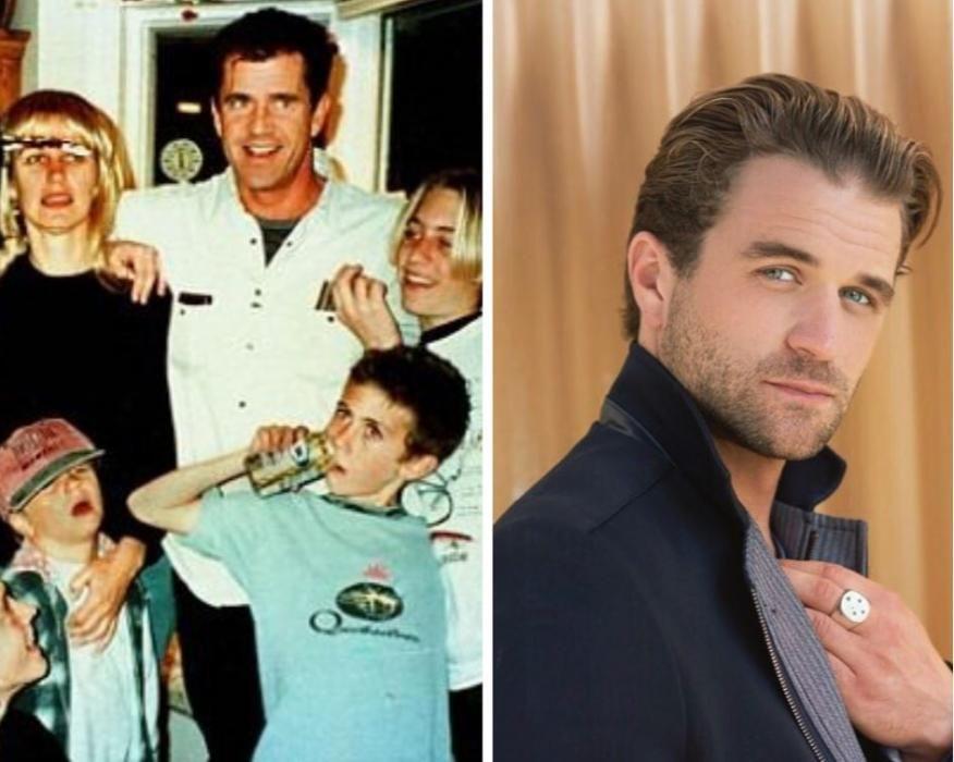 Uno de los 11 hijos de Mel Gibson. Sí, once.
