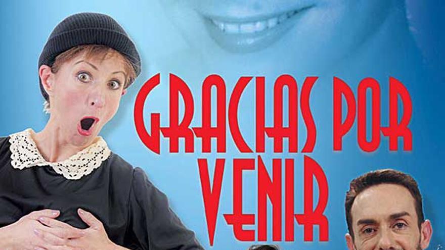 El tributo a Lina Morgan 'Gracias por venir' se adelanta el viernes a las 20 horas en el Gran Teatro de Elche