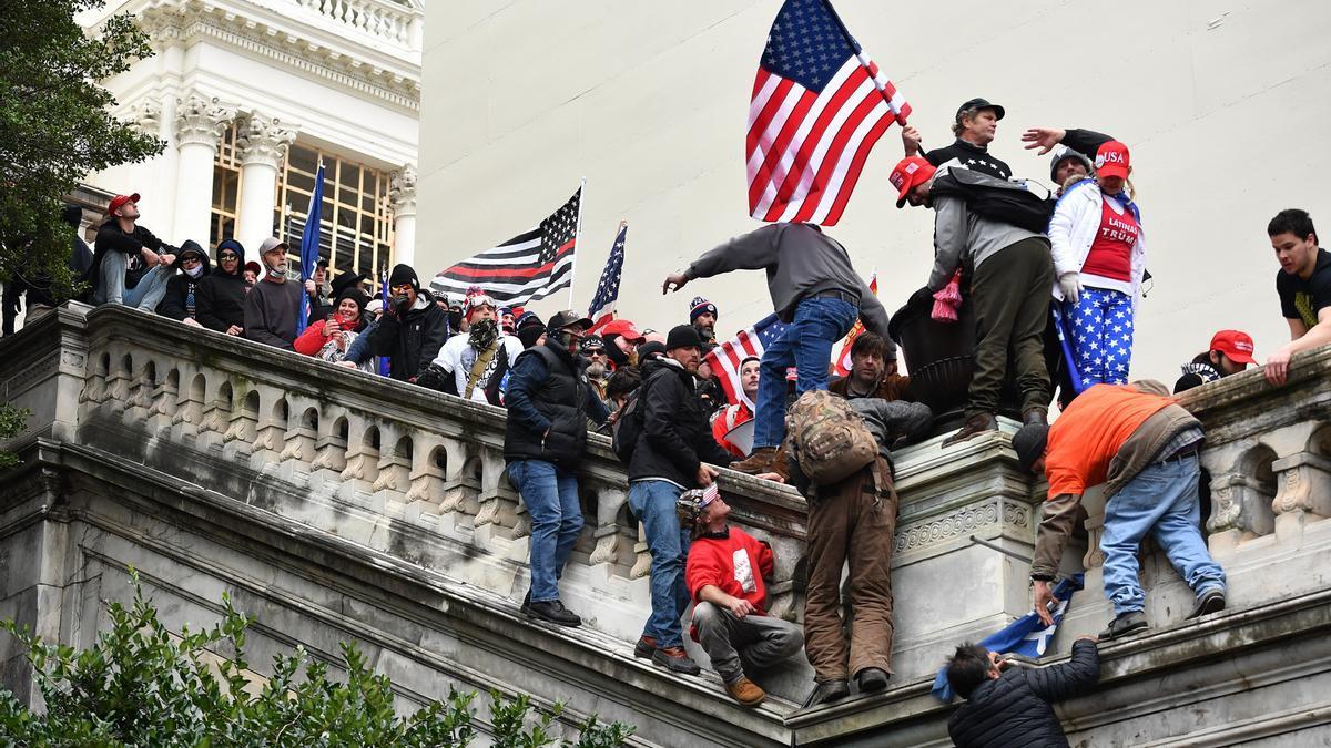 Imagen de archivo del asalto al Capitolio