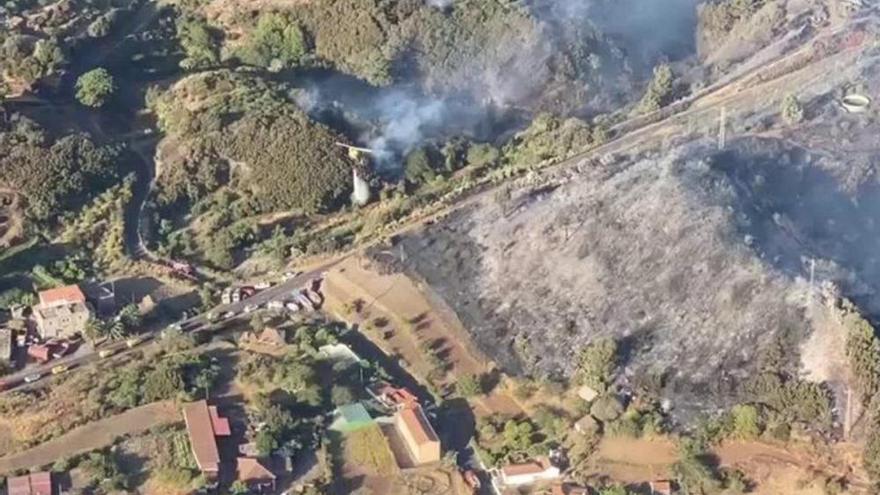 Aumenta a nivel rojo la alerta por altas temperaturas y riesgo de incendios en Canarias