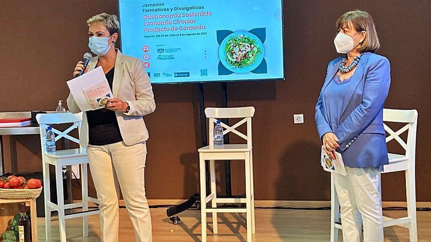 Las jornadas gastronómicas tratan sobre la economía circular y producto cercano