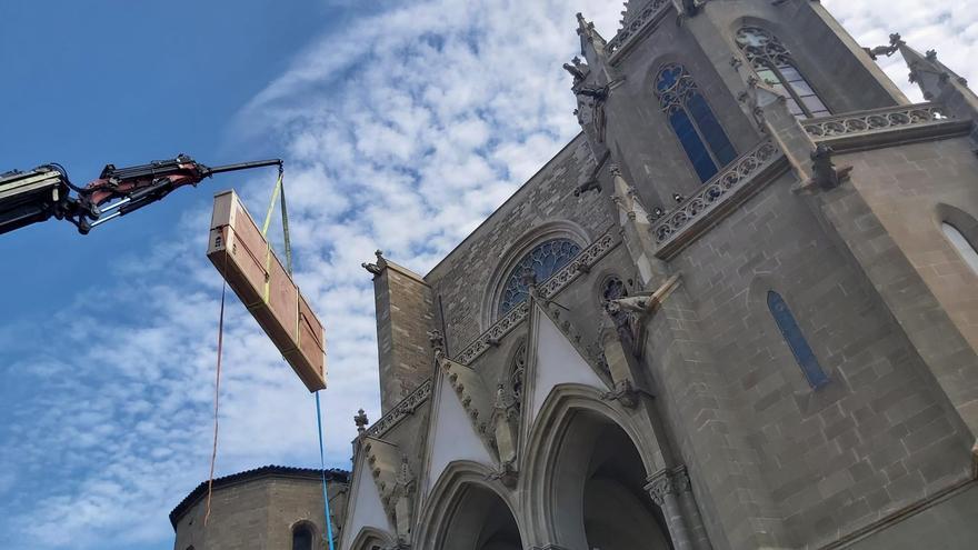 Trasllat del frontal florentí de la Seu de Manresa