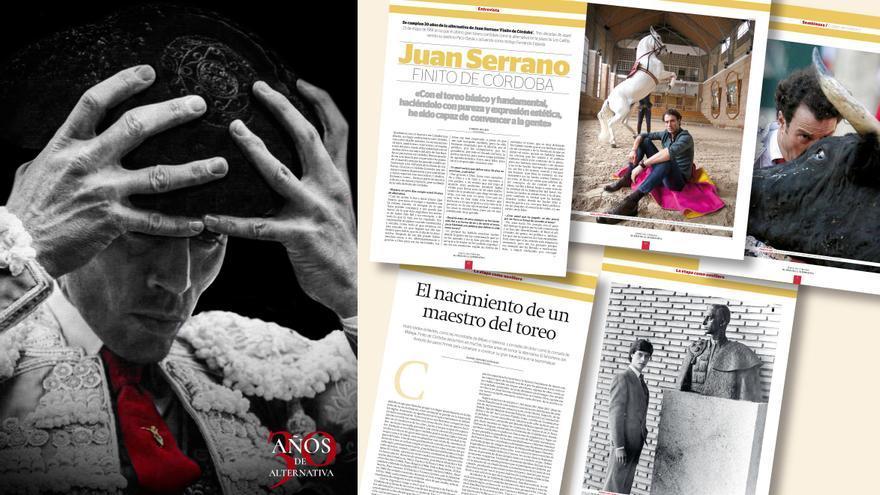 Diario CÓRDOBA publica este viernes la revista con la carrera y los hitos de Finito de Córdoba