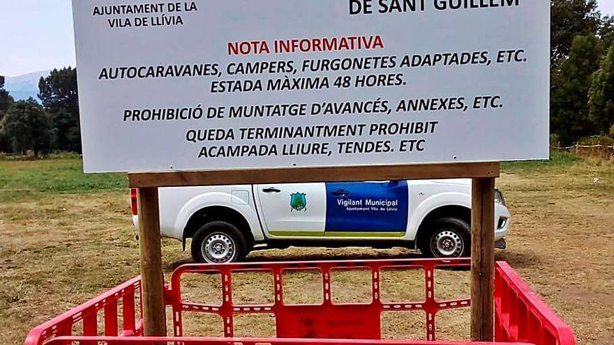 Lles i Llívia estrenen les normatives locals per regular les autocaravanes