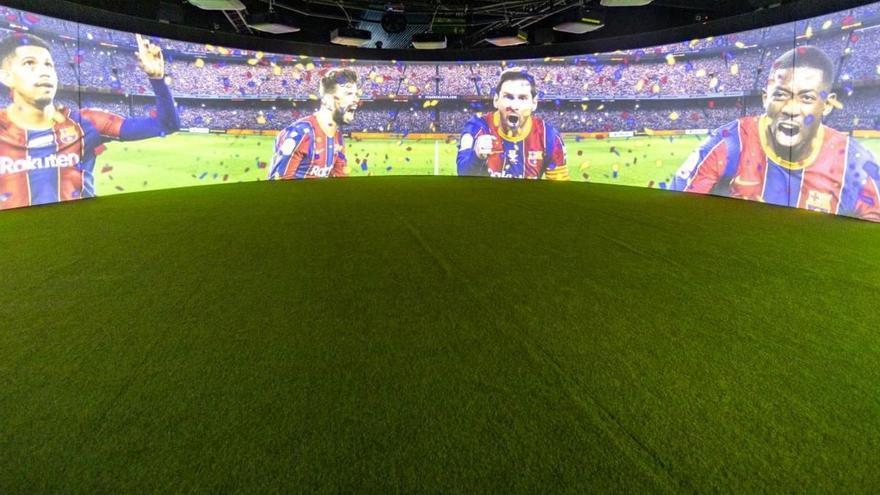 El Barça inaugura un museu itinerant a Tel-Aviv