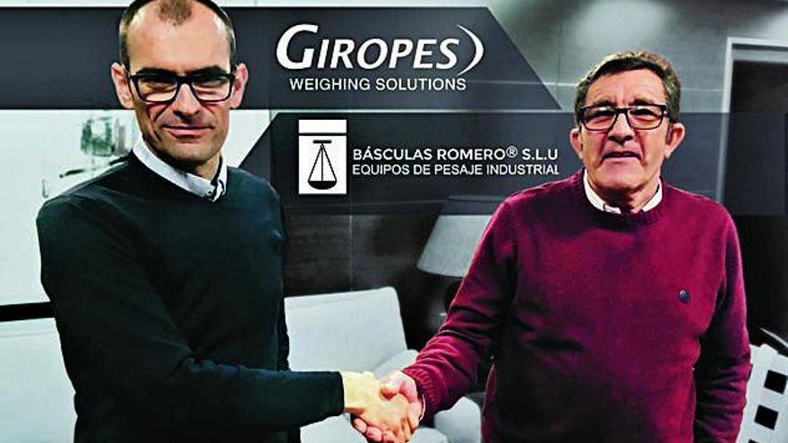 Giropes compra Básculas Romero per consolidar-se en el mercat espanyol