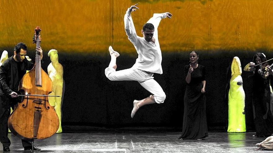 La Fura del Baus y el bailarín murciano Miguel Ángel Serrano, unidos por Bach