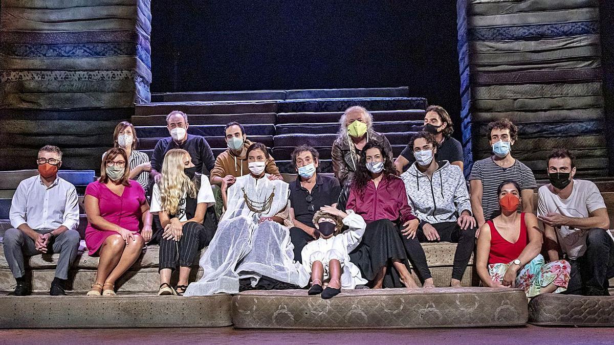 Presentación de 'Clitemnestra', una de las producciones propias del Principal.