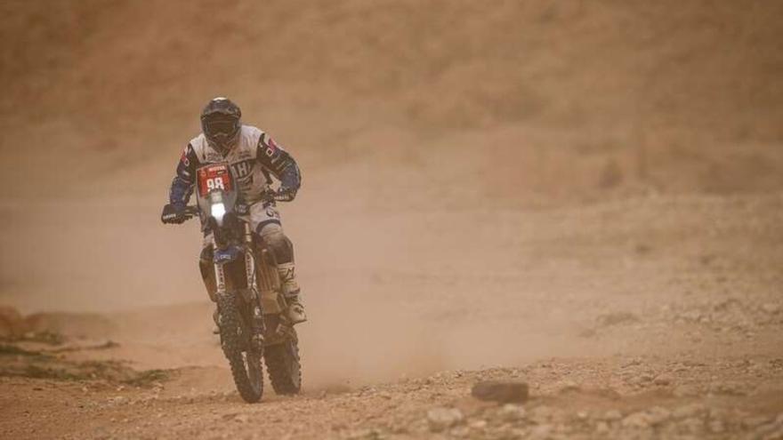 Sara García se sitúa décimo quinta de su categoría en el Dakar