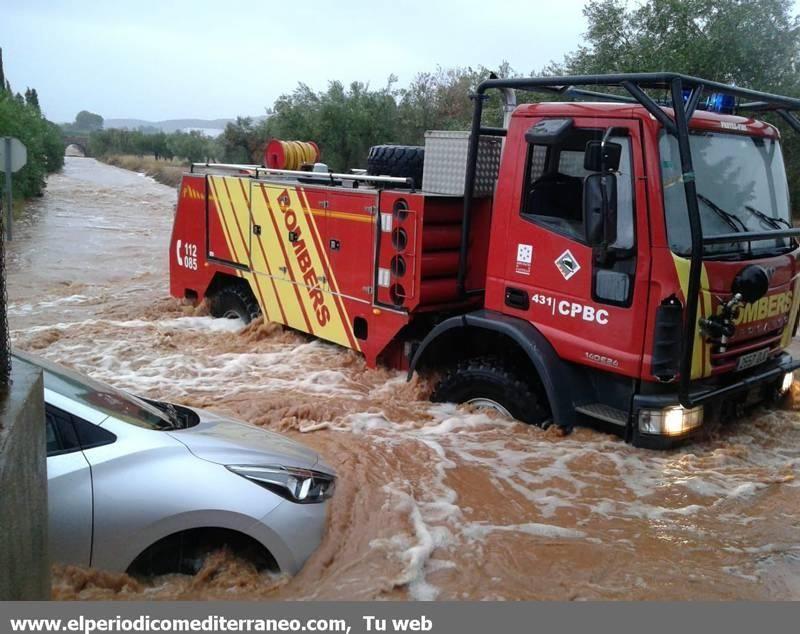Galería de imágenes de la tromba de agua en Castellón