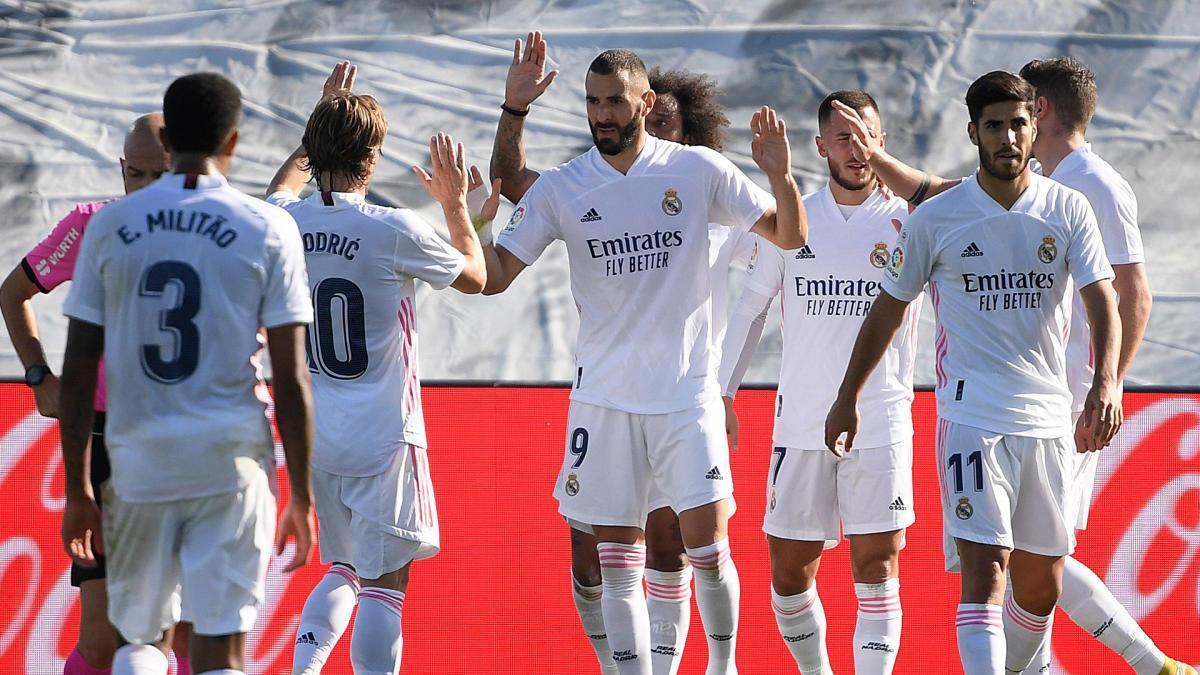 El Madrid ha golejat aquest dissabte l'Osca.