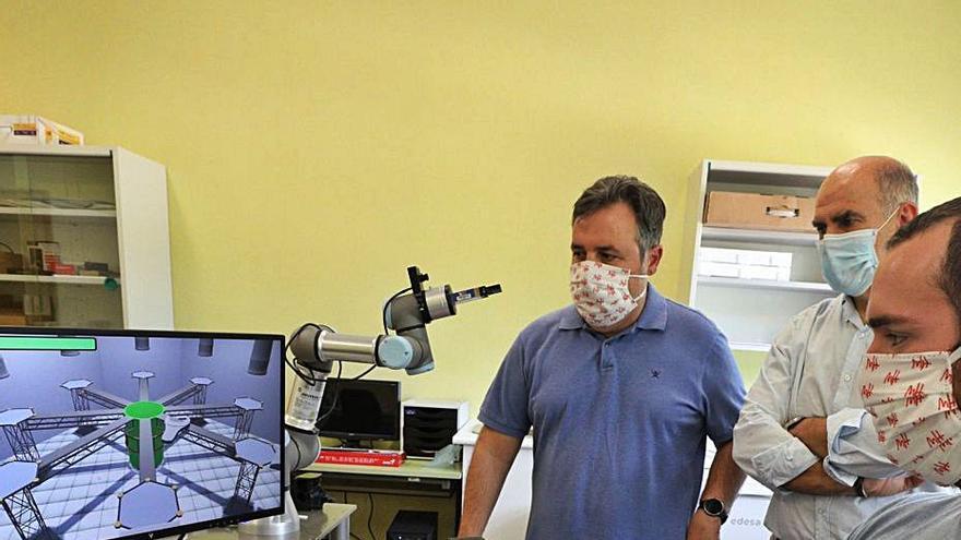 Un robot de la UMH consigue el reconocimiento de la ONCE