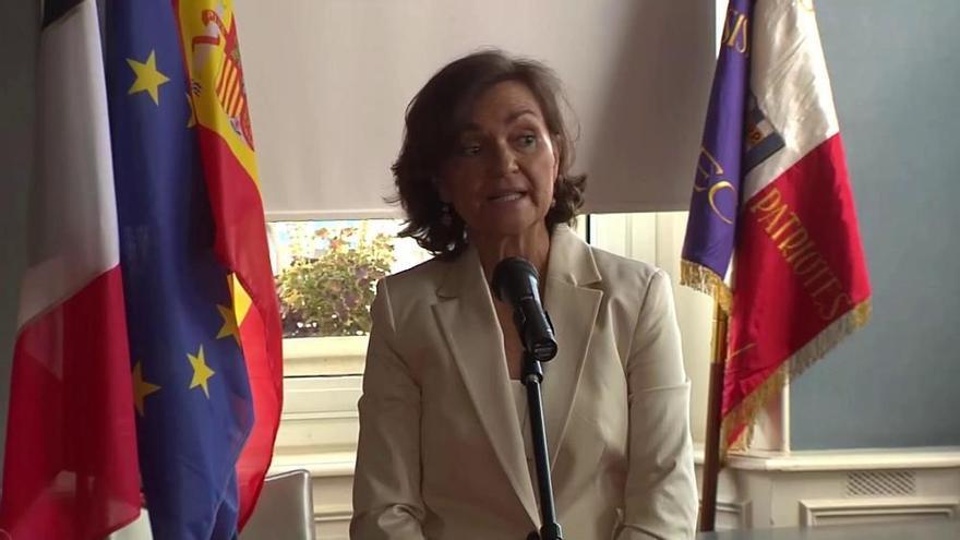 """Calvo anuncia una ley para """"saldar la deuda"""" con el exilio"""