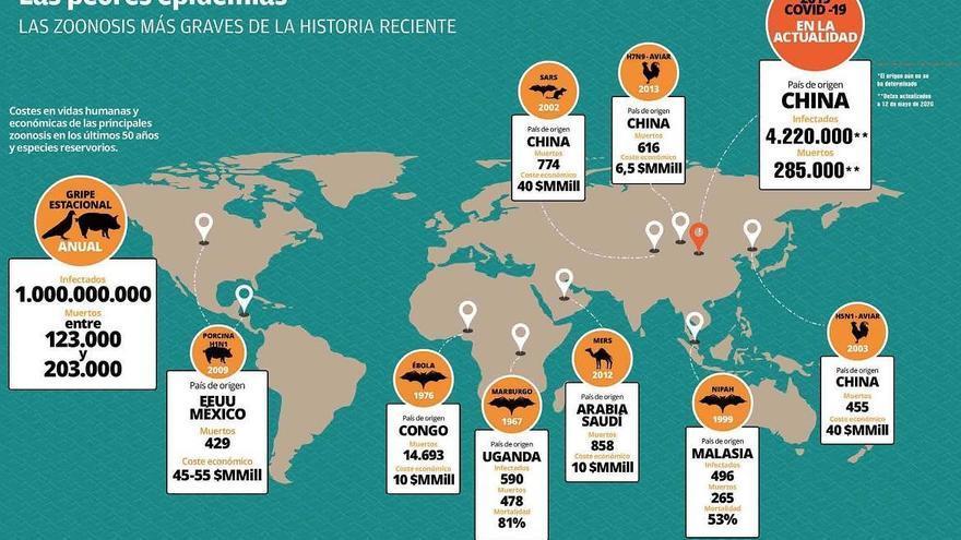 La degradación de ecosistemas, gasolina para las epidemias