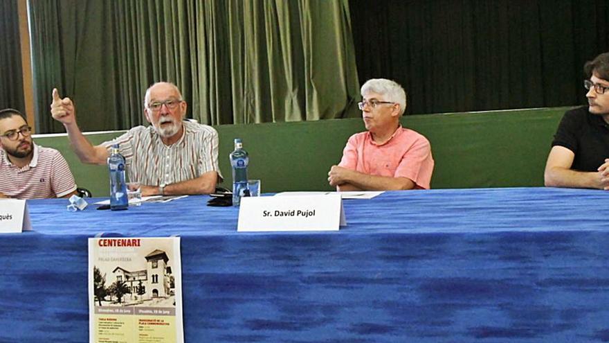 Celebren el centenari de l'edifici de l'Ajuntament de Palau-Savardera