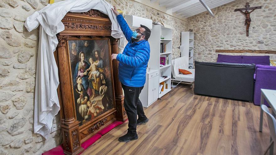 Cultura paraliza cualquier otro traslado del retablo de la Iglesia de Sant Joan