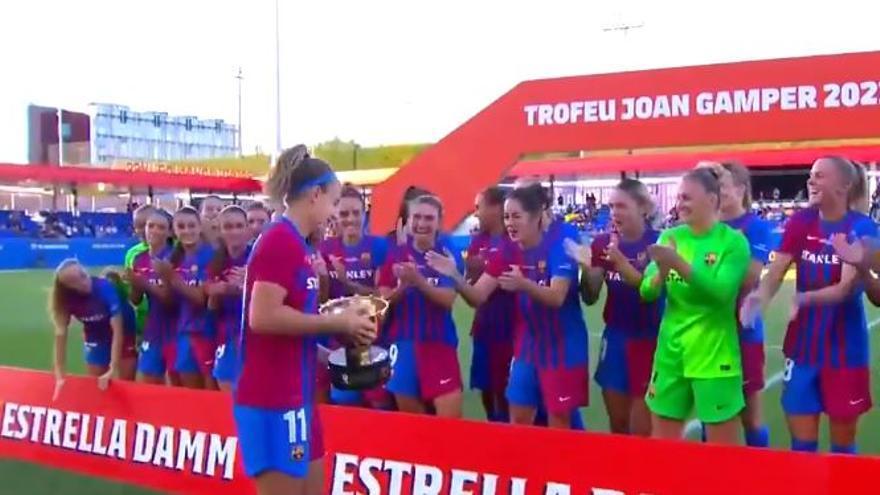 El Barça domina en el primer Gamper femení de la història (6-0)
