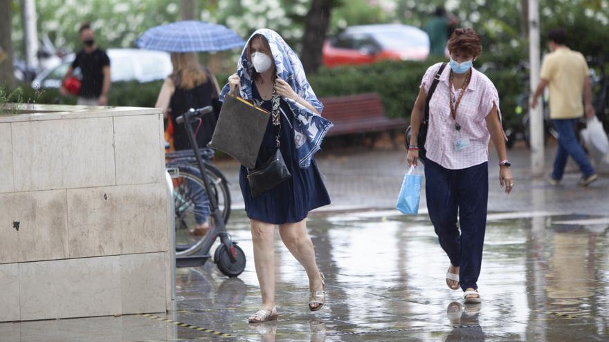 El tiempo en València: subida de temperaturas antes de que vuelvan las lluvias