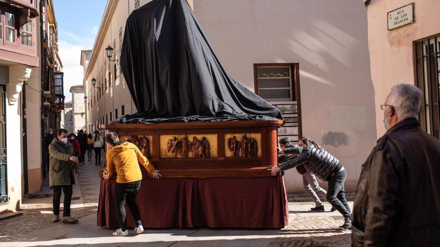 Redención vuelve al Museo de Semana Santa de Zamora tras el escaneado