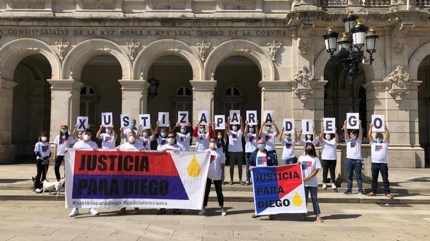 La plataforma 'Xustiza para Diego' pide al Gobierno que llame a consultas al embajador filipino en España