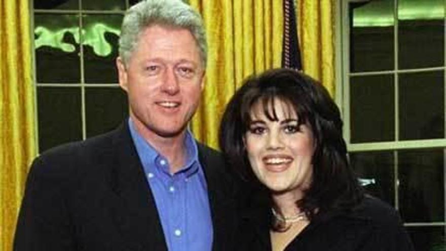 """Clinton, sobre el """"caso Lewinski"""": """"Fue para gestionar mi ansiedad"""""""