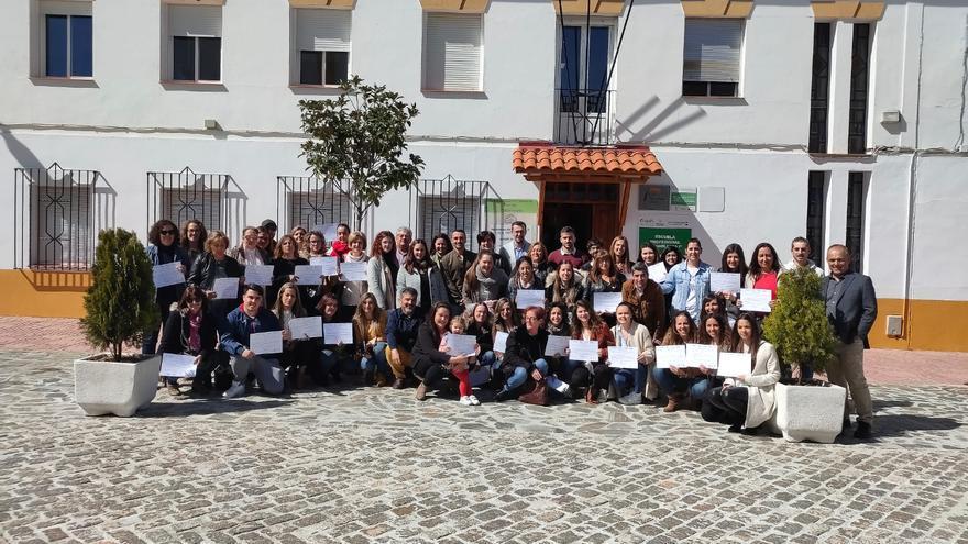 La Escuela Profesional Aguablanca III de Monesterio recibe 400 solicitudes para sus 45 plazas