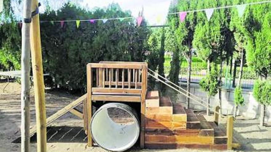 El Barranquet de Godella  ya tiene un patio igualitario