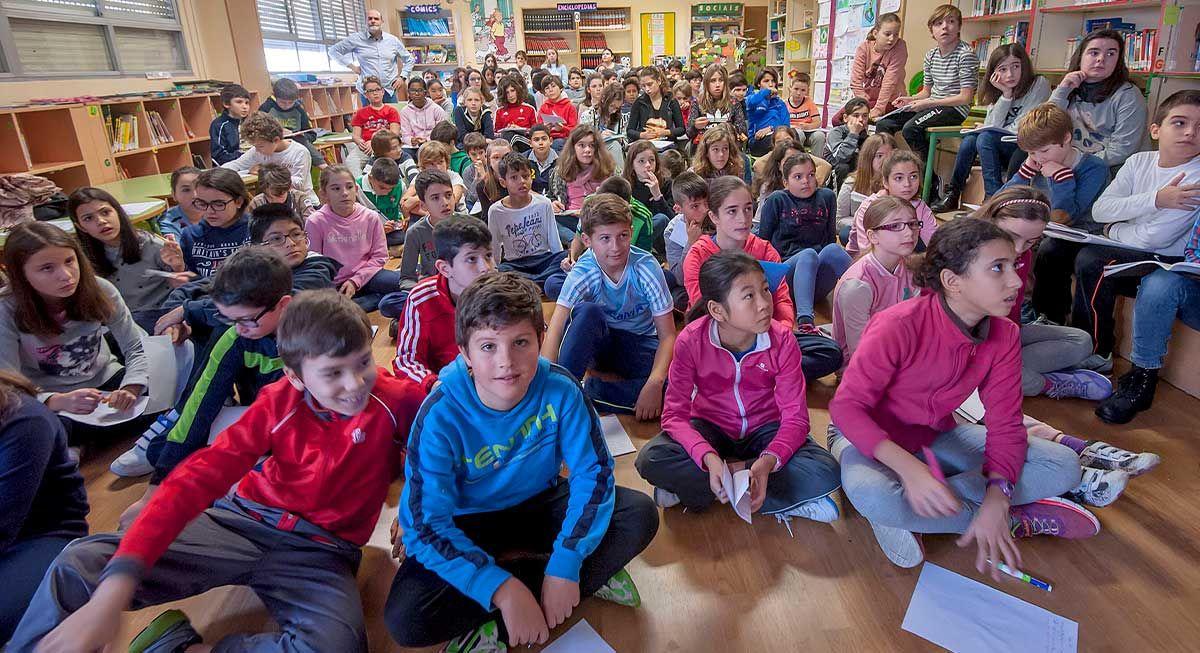 Visita de Faro de Vigo del CEIP García Barbón, curso 2016-17