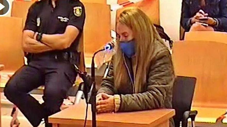 Una policía fuera de servicio vio como la 'viuda negra' de Alicante mataba a su marido