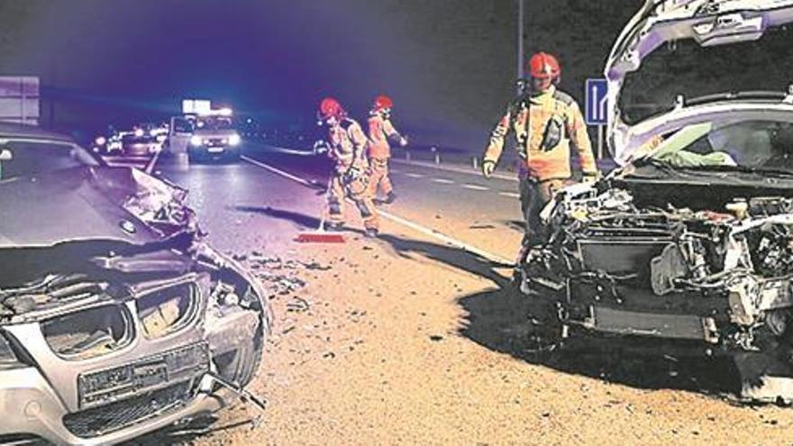 La red de carreteras de Castelló concentra 119 kilómetros de riesgo de accidentalidad
