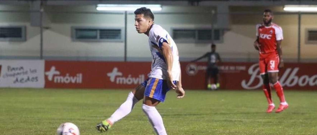 Pedro Jeanine, en un partido en su anterior club.