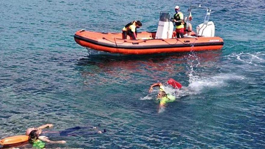 Los socorristas de Sant Josep han actuado este año en 24 rescates