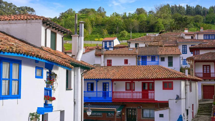 Una imagen de Tazones, en Asturias.