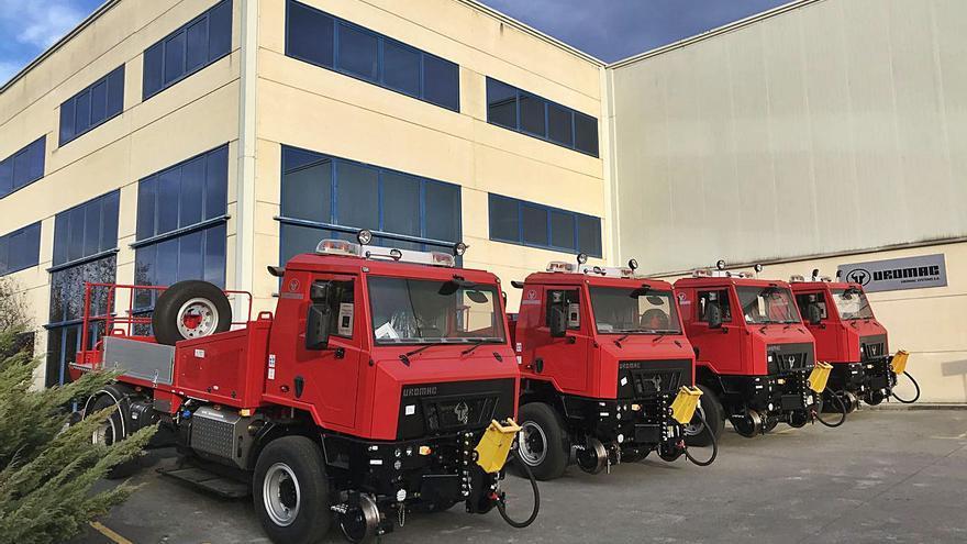 Uromac logra vender sus vehículos a los ferrocarriles de India y amplía sus instalaciones