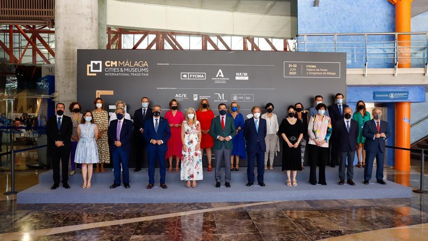 Instituciones y empresas sientan las bases del futuro digital de los museos en CM Málaga en Fycma