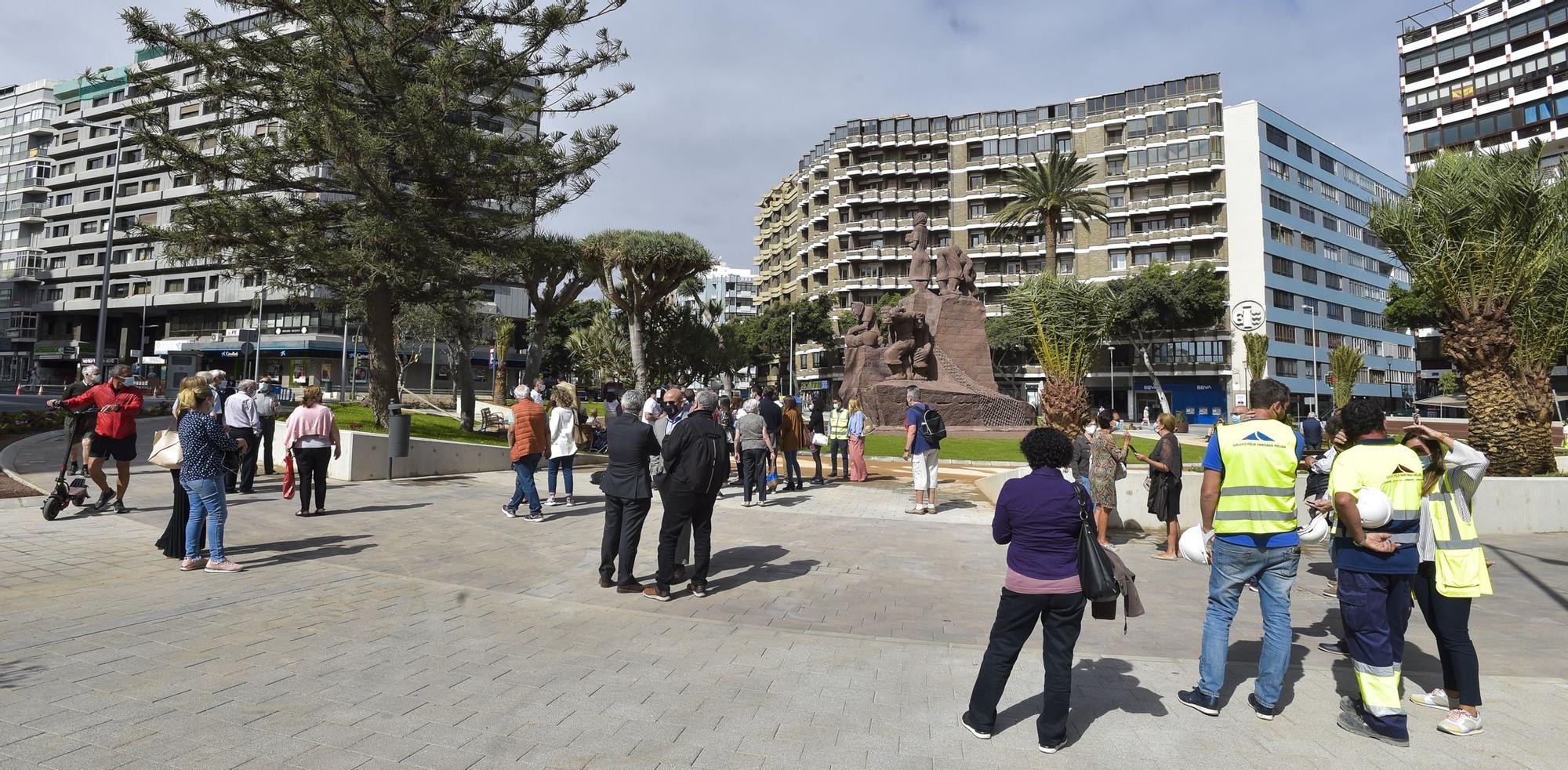 Recorrido por las obras de Plaza de España