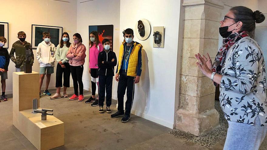 Can Garau de Sencelles muestra obra inédita de Pere Pavía y su variedad artística