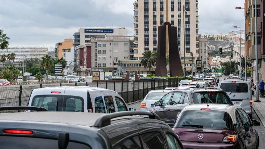 El tráfico rodado, culpable del 80% de la contaminación acústica de la ciudad