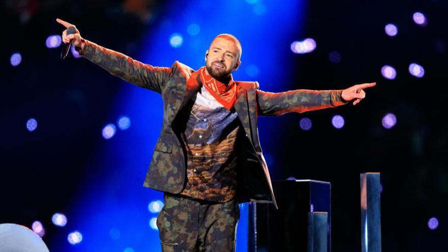 Polémica por el homenaje de Justin Timberlake a Prince en la Super Bowl
