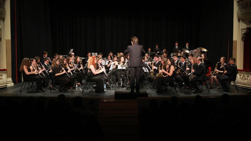 La Banda de Música de Zamora honra a Santa Cecilia con un concierto