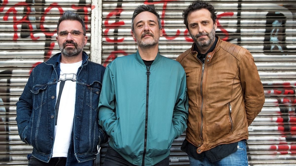 Jordi Roig, Santi Balmes y Oriol Bonet, de Love of Lesbian.