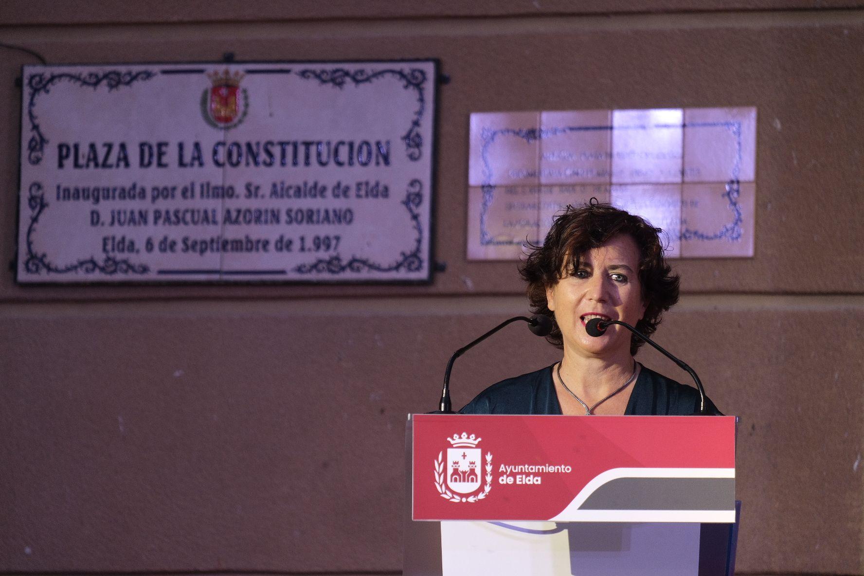 Galería nombramiento Hijos predilectos de Elda a Elia Barceló y Antonio Porpeta