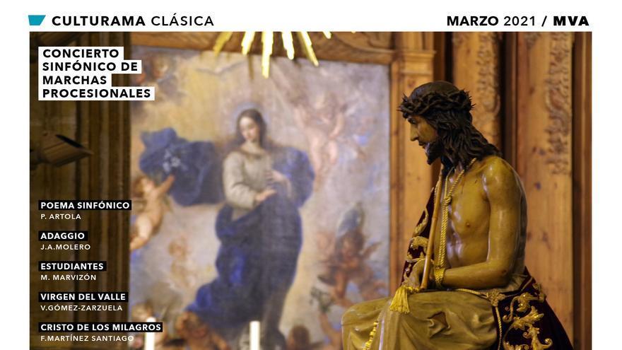 La Orquesta Sinfónica Provincial de Málaga ofrece un concierto de marchas procesionales en el MVA