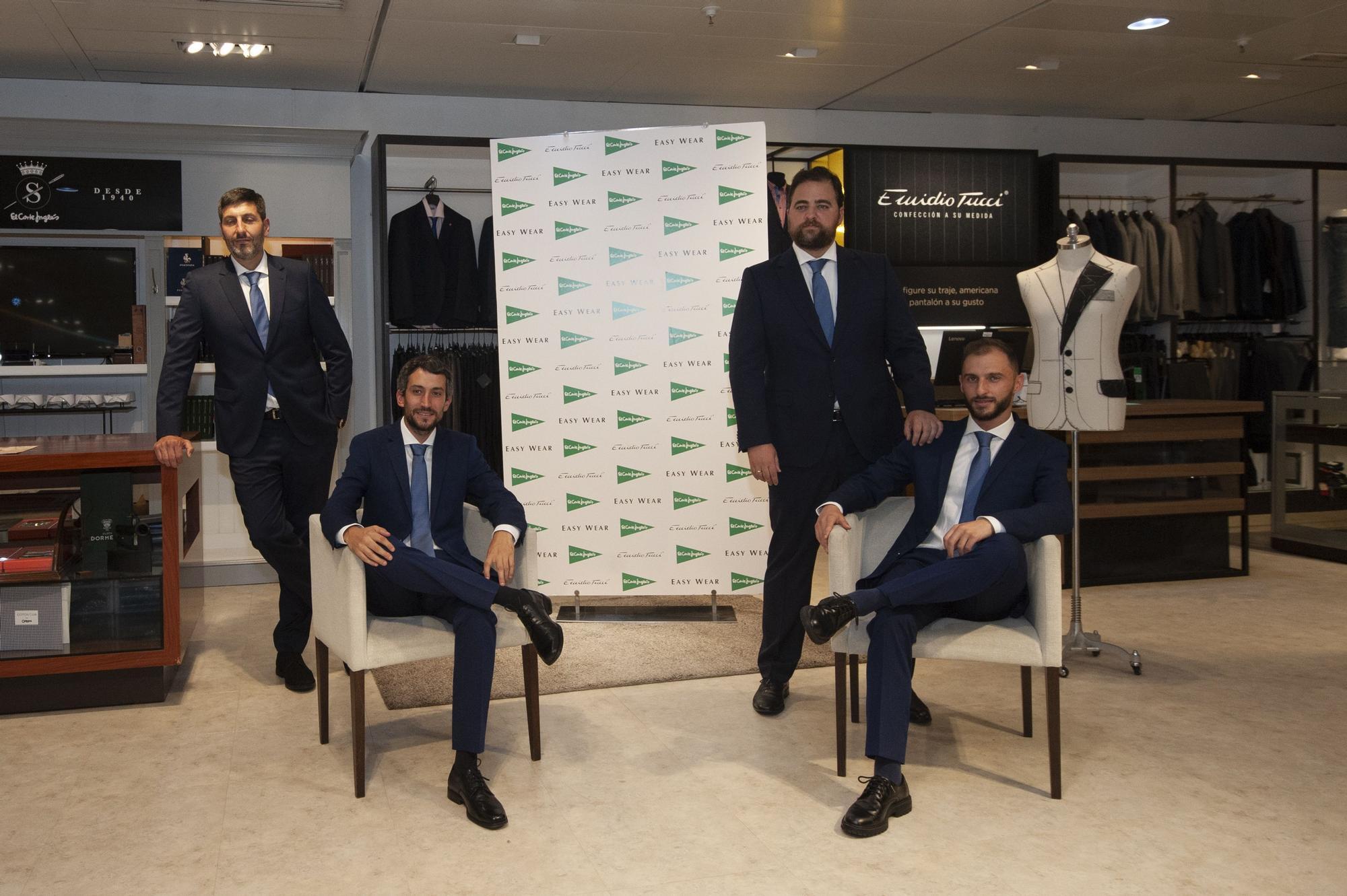 Los técnicos del Leyma reciben sus nuevos trajes en El Corte Inglés
