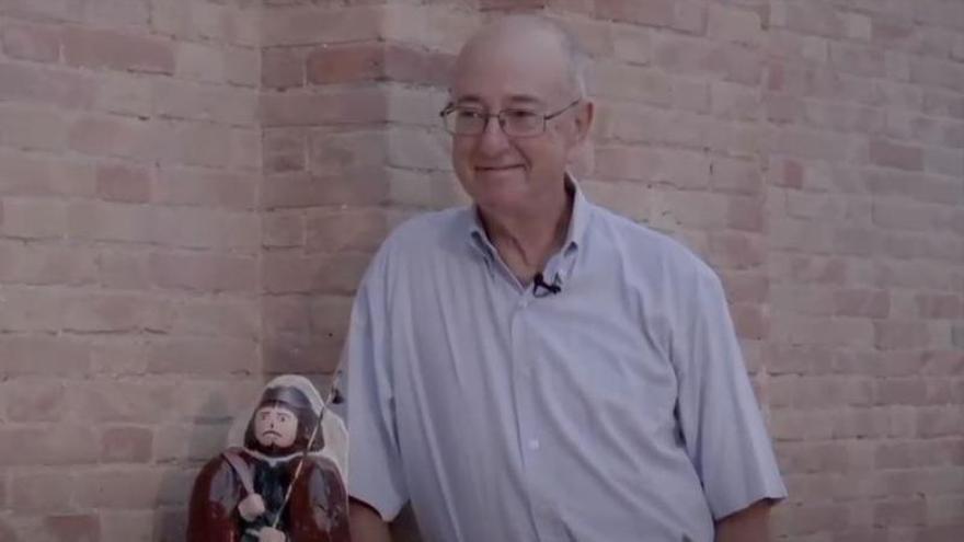 El poeta ilicitano Gaspar Jaen, premio a la trayectoria literaria Joan Roís de Corella
