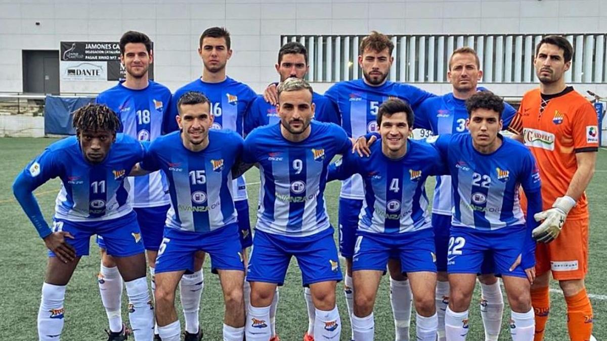L'onze del Figueres al Feliu i Codina.